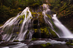 The Stripes of Panther (Darkness of Light) Tags: columbia river gorge panther creek falls washington oregon fall color sunrise sunset green moss fern flow slow nd sony a7r3 format hitech cpl polarizer zeiss batis 18mm f28