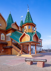 Palace of Tsar Alexei Mikhailovich (Moscow, Russia) (KonstEv) Tags: temple palace castle moscow russia architecture wooden tsar imperial kolomenskoye cages passages дворец коломенское москва сруб деревянный царь