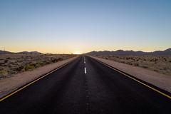 Endless, Namibia (Gijs.1985) Tags: africa afrika namibie namibia landscape landschap aus kleinausvista travel reizen sun sunrise dawn road mountains ngc sonya7ii namibnaukluftpark