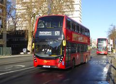 GAL EH238 - YX18KRN - CAMBERWELL ROAD - THUR 17TH JAN 2019 (Bexleybus) Tags: camberwell road se5 london goahead go ahead adl dennis enviro 400 mmc tfl route 171 eh238 yx18krn