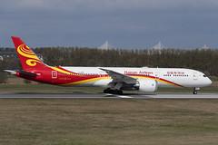 Boeing 787-9 B-206R Hainan Airlines (Mark McEwan) Tags: boeing boeing787 boeing7879 dreamliner b206r hainan hainanairlines edi edinburgh edinburghairport aviation aircraft airplane airliner