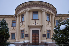 Winter building in Minsk (roman.romanenkov) Tags: building minsk belarus architecture winter