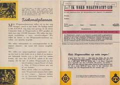 Wegenwacht-lid_oktober_1946 7 (Wouter Duijndam) Tags: oktober october 1946 anwb wegenwacht folder promotie kleuren jaren veertig 40 46 harleydavidson wla wlc hollandia zijspan beginjaren mooie