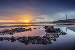 Seaburn, Sunderland (DM Allan) Tags: coast seaburn roker sunderland wearside dawn sunrise lighthous cliffepark rockpool