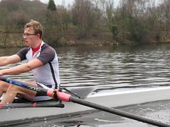 IMG_0947 (NUBCBlueStar) Tags: rowing remo rudern river aviron february march star university sunrise boat blue nubc sculling newcastle london canottaggio tyne hudson thames sweep eight pair