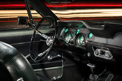 grey 1967 Ford Mustang Coupe - Shot 4 - Interior (Dejan Marinkovic Photography) Tags: 1967 american automotive car classic coupe ford mustang ponycar interior innenraum