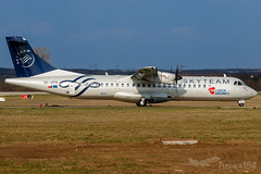 "OK-GFR   Czech Airlines (CSA) (""SkyTeam"" livery)   ATR 72-500 (72-212A)   BUD/LHBP (Tushka154) Tags: hungary specialscheme spotter atr7250072212a atr72 ferihegy budapest aerospatiale skyteam atr czechairlinescsa aerospatialeatr72 aircraft airplane avgeek aviation aviationphotography budapestairport csa czechairlines lhbp lisztferencinternationalairport planespotter planespotting spotting"