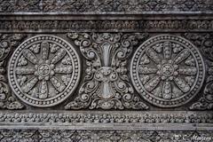 180730-18 Détails sur le temple (2018 Trip) (clamato39) Tags: temple bouddhiste religieux religion phnompenh cambodge cambodia asia asie sculpture voyage trip olympus