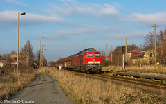 232 654 mit 60532 LD - LPR in Pegau (Emotion-Train) Tags: 232654 dbc cargo profenkohle tagebau dessau letzte