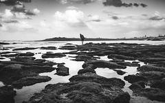 Harhoura (aminefassi) Tags: 21mm 21mmf28 a7rii aminefassi bw beach blackandwhite clouds distagon harhoura landscape loxia maroc morocco rocks sea sony temara water wideangle zeiss lens mount topic