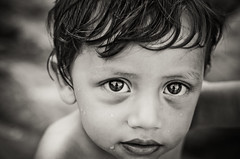 - (daviescamph) Tags: portrait retrato blancoynegro blackandwhite nikon photo photography boy kid niño