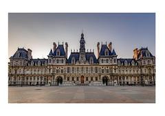 Hôtel de Ville de Paris (PhilND8) Tags: ville paris philnd8 hôtel hôteldeville earlymorning vide