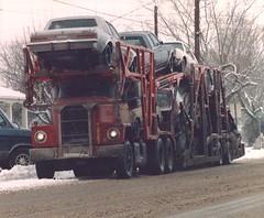 Dodge: Cassens T/P #8627 (PAcarhauler) Tags: dodge semi carcarrier truck trailer mopar