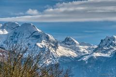 Pyrénées_0984 (Luc Barré) Tags: france pyrénées neige snow montagne mountain nuage nuages sky ciel shadow shadows