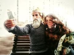 Selfie (ArtCat80) Tags: potter harrypotter dolls mattel dumbledore minerva mcgonagall selfie