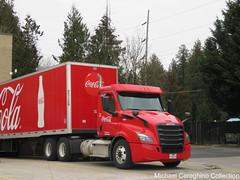 "Coca-Cola Freightliner Cascadia ""Next Gen"" Daycab, Truck# 5267 (Michael Cereghino (Avsfan118)) Tags: coke cocacola coca cola classic freightliner cascadia daycab next gen truck tractor semi trucking soda"