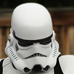 Trooper (arbyreed) Tags: arbyreed lookingcloseonfriday mask close closeup trooper starwarstrooper troopermask white