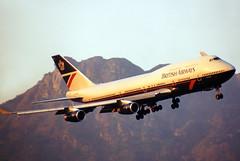 British Airways Boeing 747-400 G-BNLY (gooneybird29) Tags: flugzeug flughafen aircraft airport airplane airline boeing 747 britishairways gbnly hkg kaitak