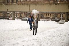 loving the snow 1 (theharv58) Tags: lightsnow lightweather subway eatonscentre tunneloverqueenstreet peoplewalkinginthesnow skatingatcityhall celebratingsnow subwayart snow canoneos6dmarkii canonef2470mmf4lisusm winterphotography toronto torontocanada copsnearkopsrecords