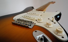Classic Player 50's Stratocaster (interestedbystandr) Tags: stratocaster fender guitar 50s