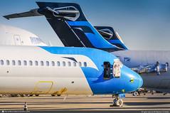 [VCV.2012] #MexicanaClick #QA #McDonnell.Douglas #MD95 #Boeing #B717 #N920ME #awp (CHRISTELER / AeroWorldpictures Team) Tags: mexicanaclick qa mcdonnelldouglas boeing b717 7172bl md95 msn551825138 bmw rr br715 n920me longbeach lbg california ca usa midwestairlines xy mep lease bcc stored victorville airport plane aircraft airplane avion avgeek cbe voloteaairlines v7 voe eifbk hawaiianairlines ha hal n494ha desert boneyard wfu mdc aeroworldpictures christeler nikon d300s nikkor 18135mm nef raw lightroom