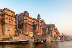 Varanasi, India (Ninara) Tags: varanasi india uttarpradesh ghat ganges ganga gangaaarti sadhu nagasadhu sunrise morning bathing holycity ranamahalghat kashi benares munshighat darbhangapalace