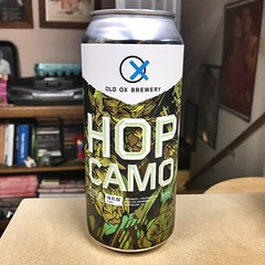2019 066/365 3/07/2019 THURSDAY - Yet even more/another one: Old Ox Brewery Hop Camo IPA Hoppier Place Batch 013 with Ella and Comet hops, found at the bottom of the beer fridge. (_BuBBy_) Tags: 066 66 066365 66365 365 days 365days 03072019 2019 372019 old ox brewery hop camo hopier place batch 013 13 with ella comet hops found bottom beer fridge thursday thorsday thr ipa india pale ale beverage drink alcohol imbibe cheers invalid tag