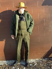 3-12-2019 Today's Clothes (Michael A2012) Tags: this mans winter style vintage fashion stetson no 1 quality western hat fur felt filson double mackinaw cruiser field trousers bib wool nsa red wing