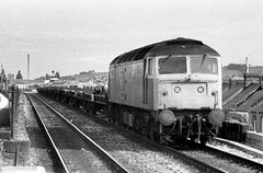 Ex Car-go (Stapleton Road) Tags: motorrail class47 exeter