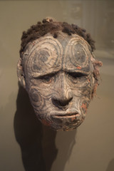 New Guinea tattoo mask (quinet) Tags: 2017 amsterdam antik netherlands tropenmuseum ancien antique museum musée