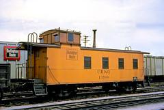 CB&Q Waycar Class NE-10 13500 (Chuck Zeiler 48Q) Tags: cbq waycar class ne10 13500 burlington railroad caboose denver train holwagner alchione chz