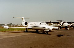 84-0110 (IndiaEcho) Tags: 840110 us united satates air force usaf learjet c21 raf fairford international tattoo royal riat 94 aircraft aeroplane aviation airport airfield
