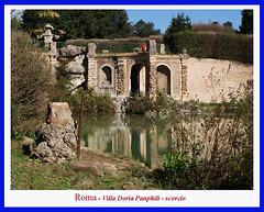 DSC02701 riflessi (fr@nco ... 'ntraficatu friscu! (=indaffarato)) Tags: italia italy lazio roma rome villa riflessi