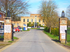 The entrance to RAF Hemswell