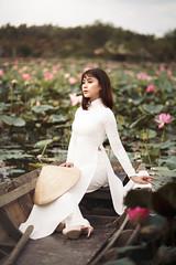 NAM06859-Edit (ngocnam23041991) Tags: portrait lotus vietnam vietnamese afternoon beauty forest saigon hochiminh sonyalpha a7iii a7m3 sony85mmf18 fe85mmf18 tree grass aodai