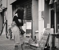 Udon stand (Bill Morgan) Tags: fujifilm fuji xpro2 35mm f2 bw jpeg acros alienskin exposurex4