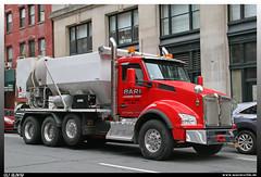 "Kenworth T880 ""Bari Leasing Corporation"" (uslovig) Tags: t880 t 880 bari leasing corporation new york ny nyc manhattan usa kenworth kw amerika america conventional hauber truck lkw lastwagen lastkraftwagen lorry camion camiones zimmerman industries concrete mixer betonmischer ephrata pennsylvania pa"