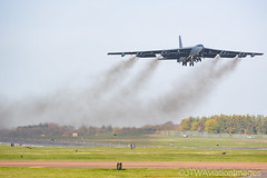 AERO 11-2 (JTW Aviation Images) Tags: raf fairford gloucestershire us united states air force europe b52h bomber stratofortress deployment usafe barksdale cotswolds kingdom