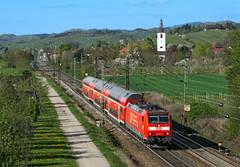 DB 146 111 (maurizio messa) Tags: br146 bombardier traxx badenwürttemberg germania germany mau bahn ferrovia treni trains railway railroad re26579 nikond7100