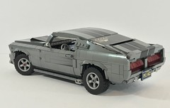 """1967 Shelby G.T.500 """"Eleanor"""" (Zach Sweigart) Tags: eleanor gone 60 seconds shelby mustang lego"""