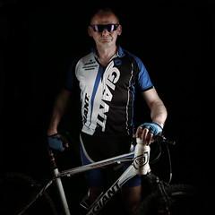 MTB (MikeOB64) Tags: cyclist lycra fitness cycling giant mtb bike revel3
