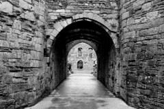 Beaumaris Castle (richardr) Tags: beaumariscastle beaumaris ruin ruins castle anglesey gate blackwhite blackandwhite ynysmôn castell building architecture wales welsh cymru britain british greatbritain uk unitedkingdom europe european old history heritage historic