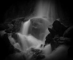 Troll in the waterfall (MortenTellefsen) Tags: 2019 kanadaskogen troll waterfall water bw blackandwhite blackandwhiteonly monochrome norway norwegian nature natur norsk