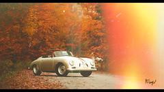 Porsche 356 (at1503) Tags: porsche porsche356 classicporsche vermont autumn autumncolours orange yellow red filmgrain oldfilm trees usa america fallenleaves leaves germancar gtsport granturismo granturismosport motorsport racing game gaming ps4 classiccar retro vintage lightleak