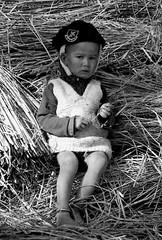 Portrait (Christian Bachellier) Tags: portrait enfant children nb noiretblanc bw népal asie nikon