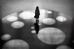 Circle (reiko_robinami) Tags: streetphotography silhouette shadow monochrome woman lightandshadow blackandwhite oneperson city yokohama japan