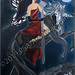 """""""Dark Fairie"""" by Manic Gypsy, acrylic, $85.00"""