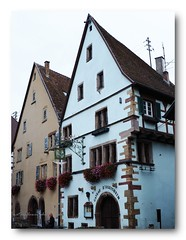 Classical Eguisheim. (natureflower photography) Tags: classical eguiaheim hautrhin colmarribeauvillé wineroute alsace the most beautiful villages france dukesofalsace 1thcentury medieval village half timbered flowers oldtown