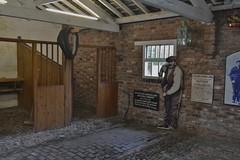 National Waterways Museum Ellesmere Port 130219_DSC2846 (Leslie Platt) Tags: exposureadjusted straightened cheshirewestchester ellesmereport nationalwaterwaysmuseum stables inlandwaterways
