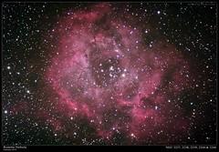 Rosette Nebula (mariuszg76) Tags: mariuszgoralski ngc2246 ngc2244 ngc2239 ngc2238 ngc2237 rosettenebula